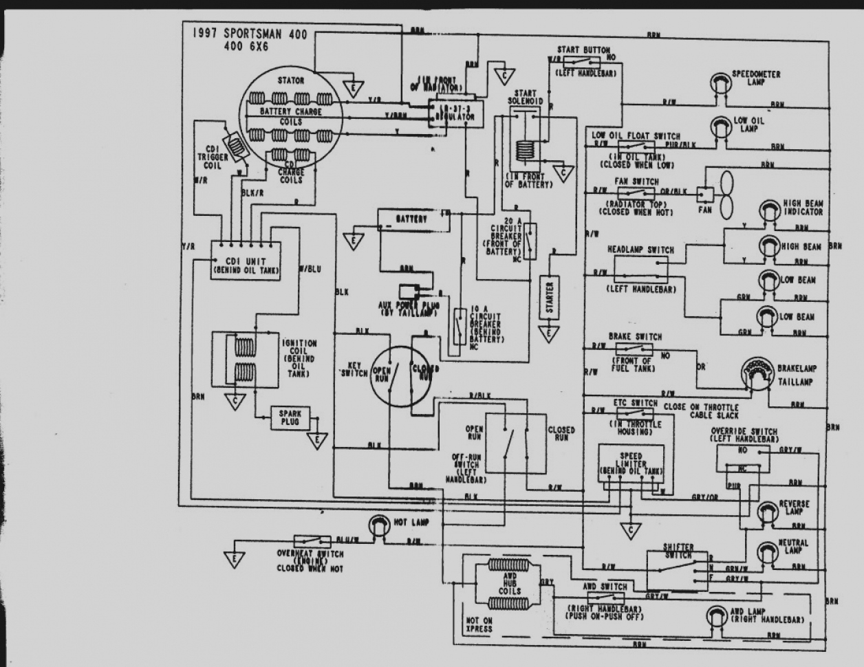 2003 polaris 600 wiring diagram