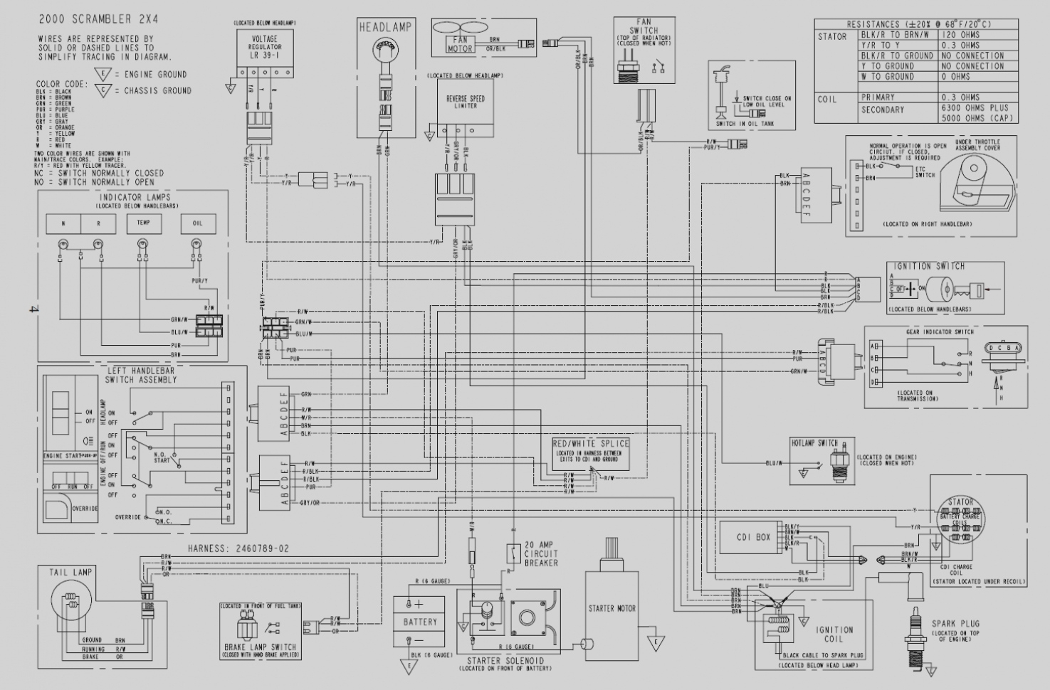 A 500 Wiring Diagram