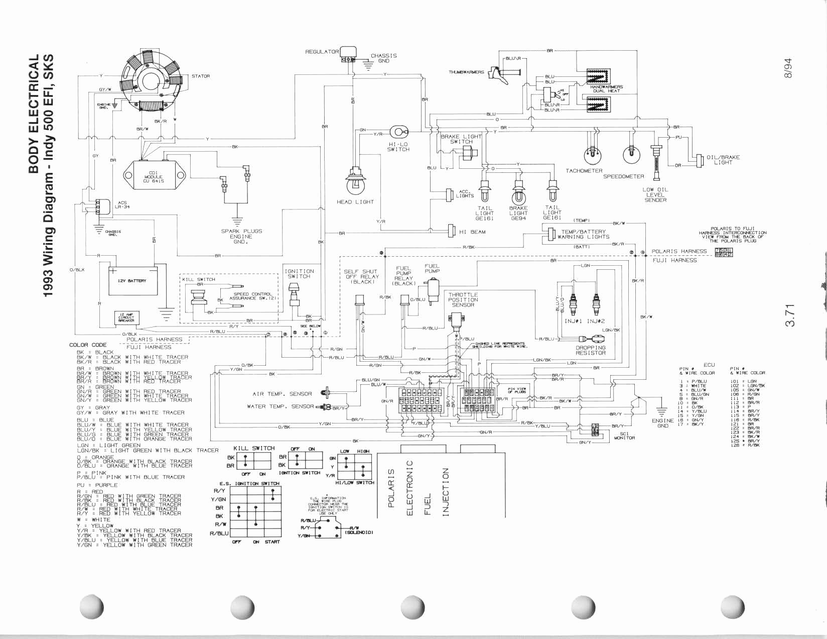 2007 Polaris Rmk Wiring Diagram