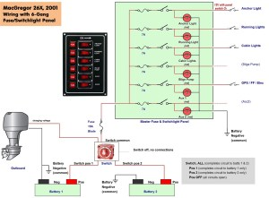 Pontoon Boat Wiring Schematic | Free Wiring Diagram