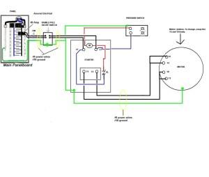 Pressure Switch Wiring Diagram Air Compressor | Free