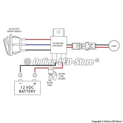 5 Pin Relay Wiring Diagram Light Bar 2016 Dodge Dart Speaker 12v 40a Wire Get Free Image About Mictuning All