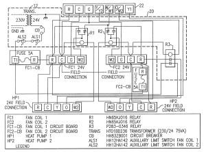 Rheem Heat Pump thermostat Wiring Diagram | Free Wiring