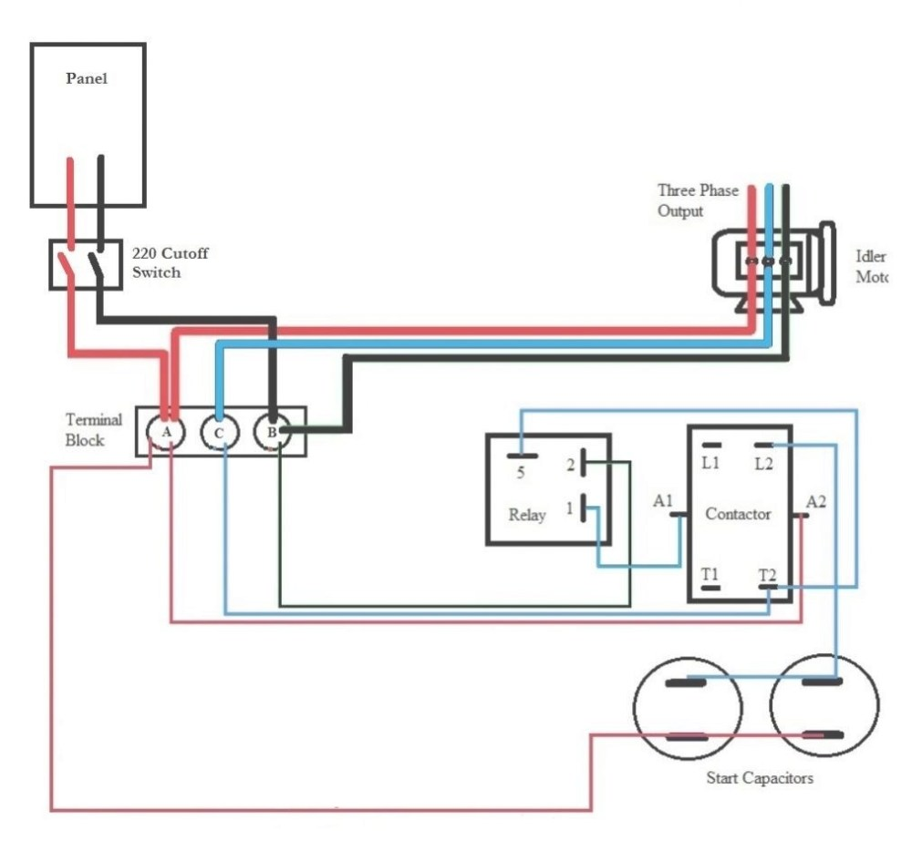 medium resolution of rotary phase converter wiring diagram diagrams rotary phase converter wires electric throughout beautiful 2j