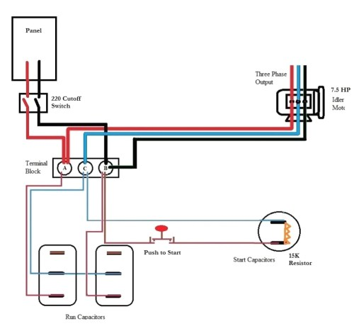 small resolution of roto phase converter wiring diagram free wiring diagramroto phase converter wiring diagram