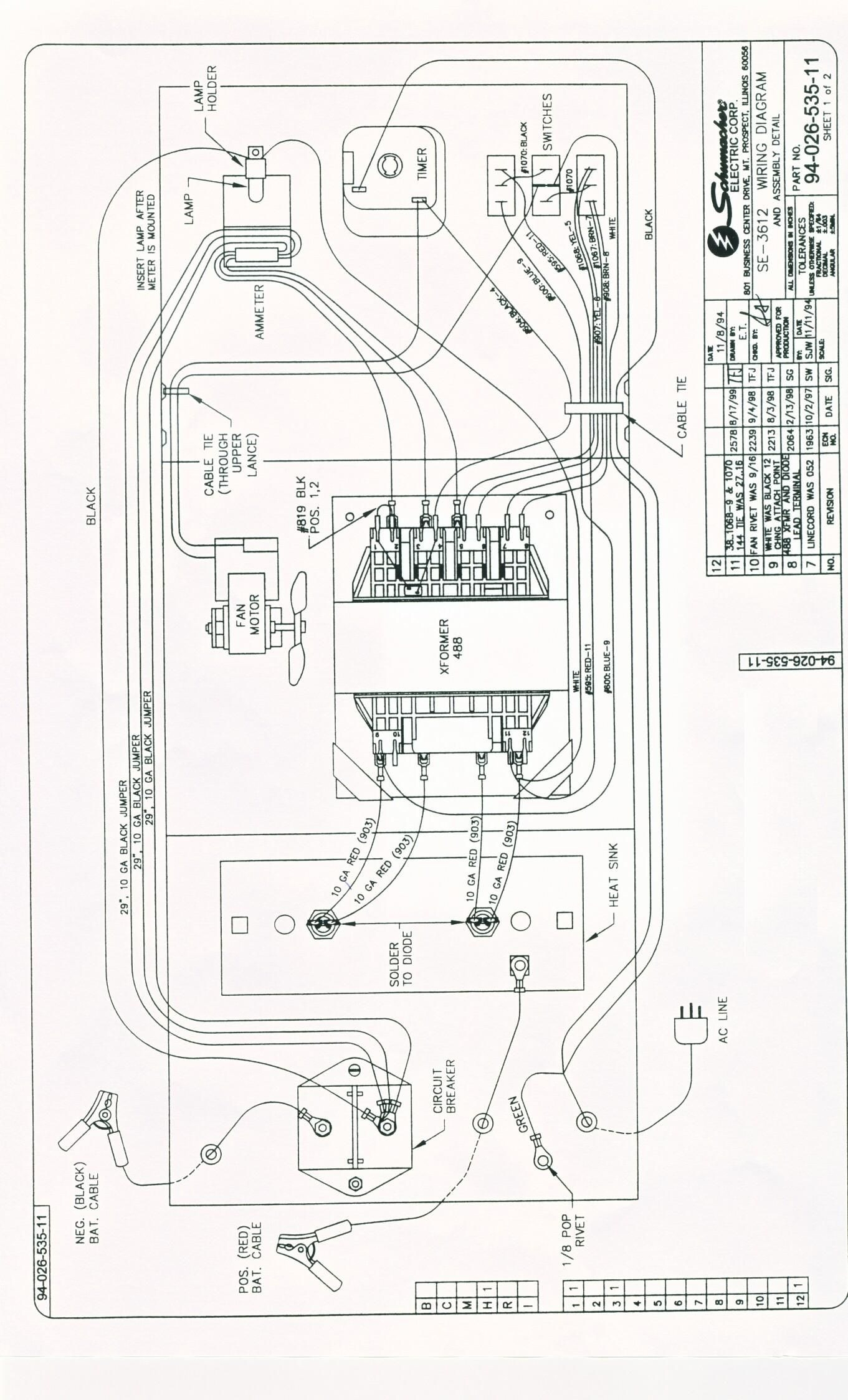 battery charger wire diagram 6030