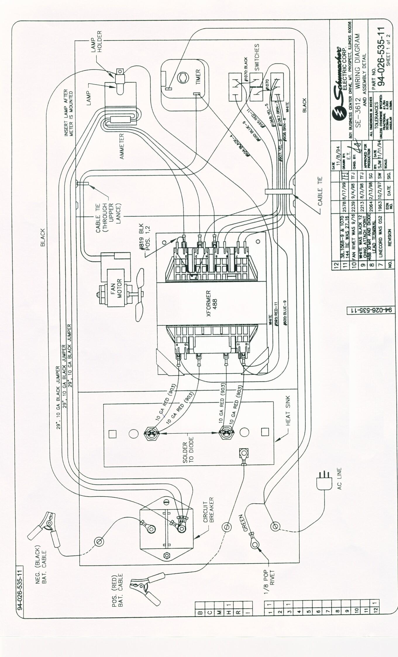 schumacher se 5212a wiring diagram