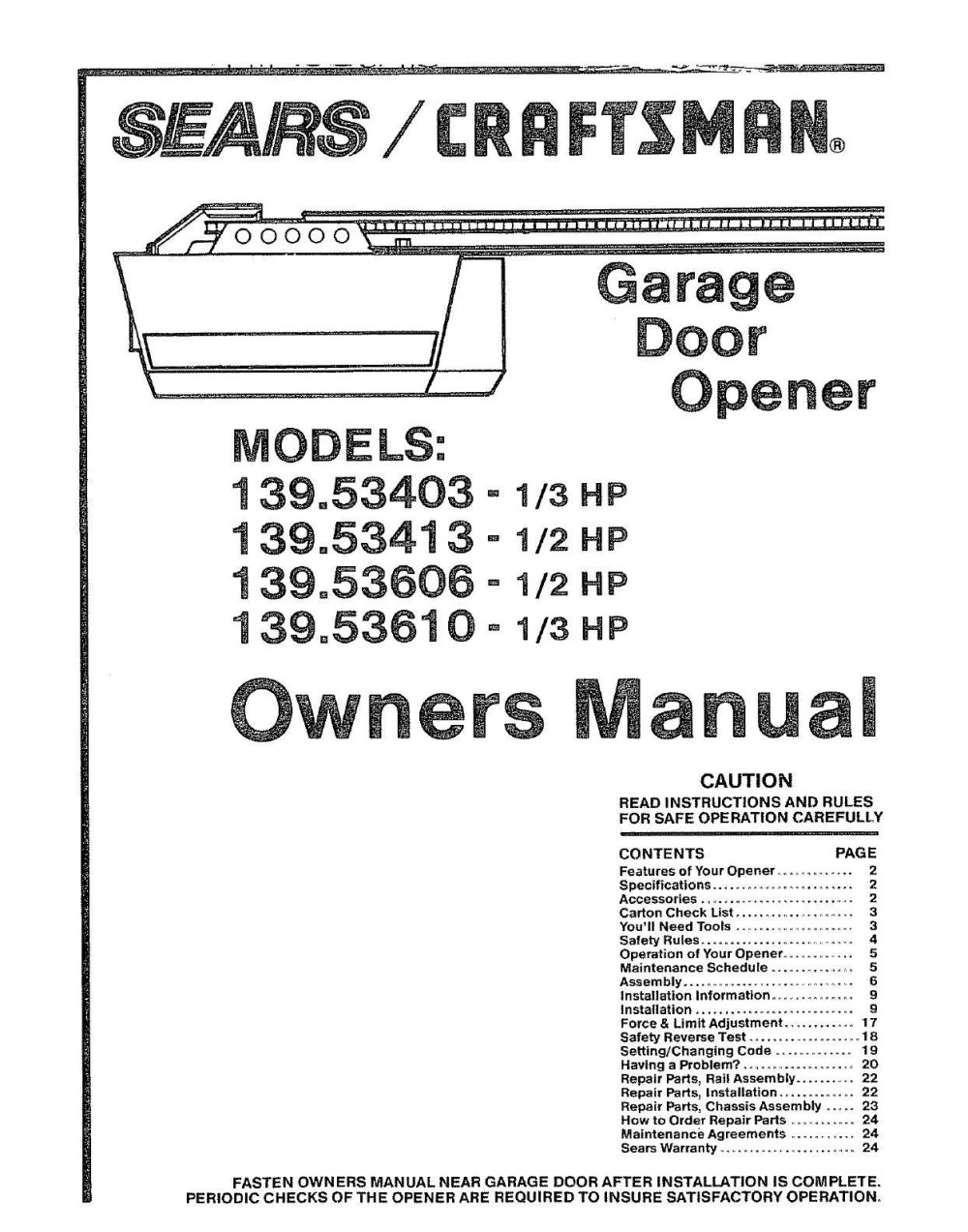 medium resolution of sears craftsman garage door opener wiring diagram