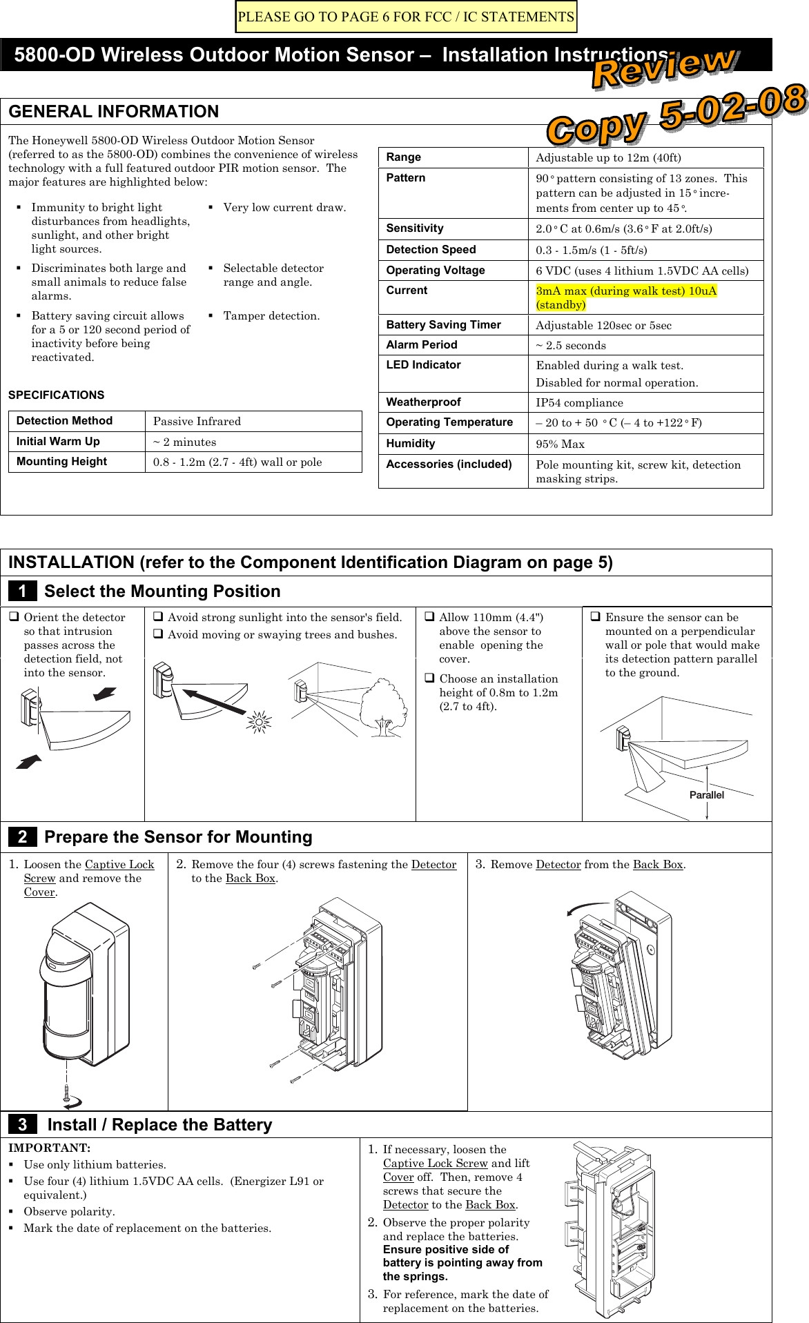 hight resolution of sensor light wiring diagram wiring diagram for outdoor motion detector light inspirational 8dl5800pir od security