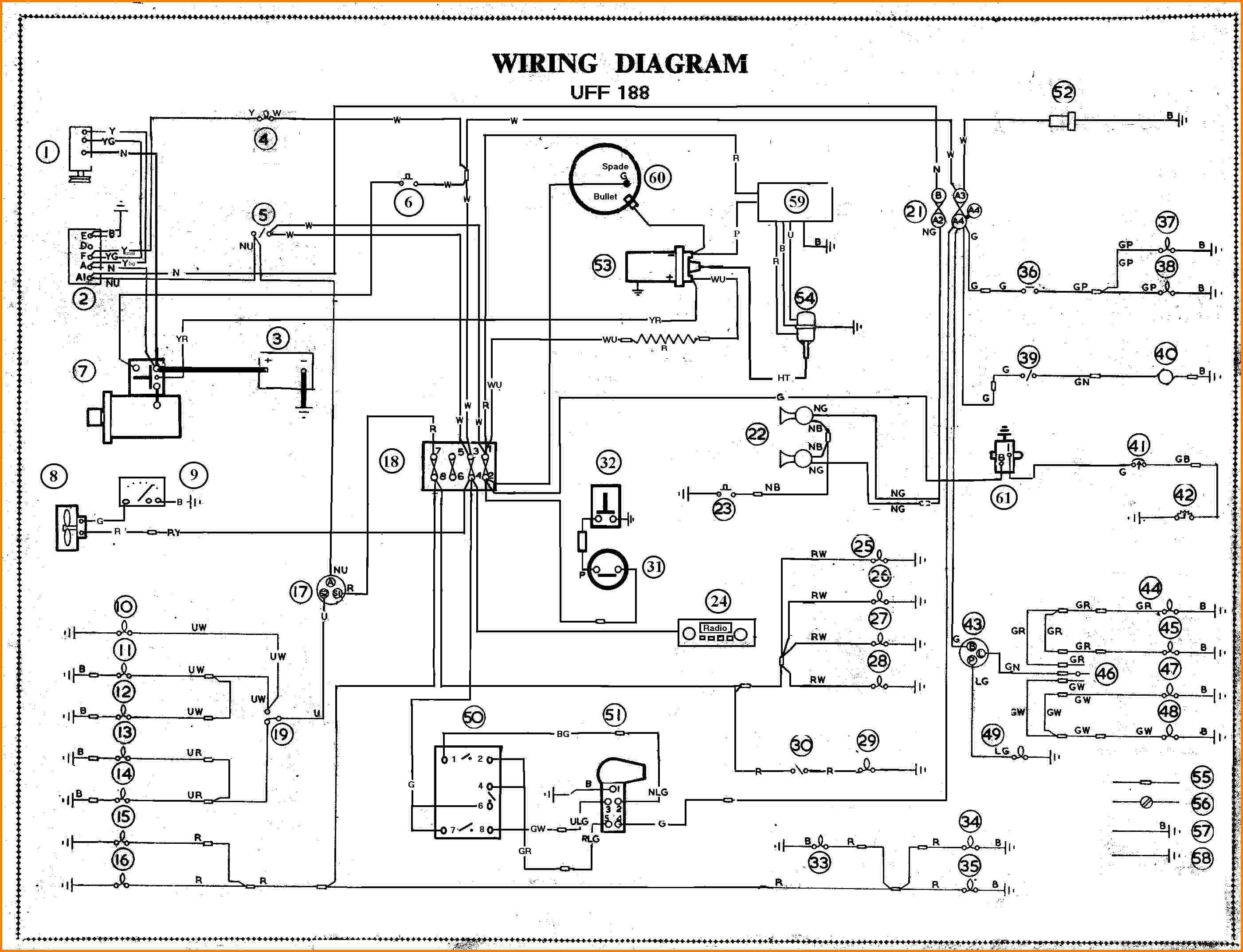 Simple Race Car Wiring Schematic