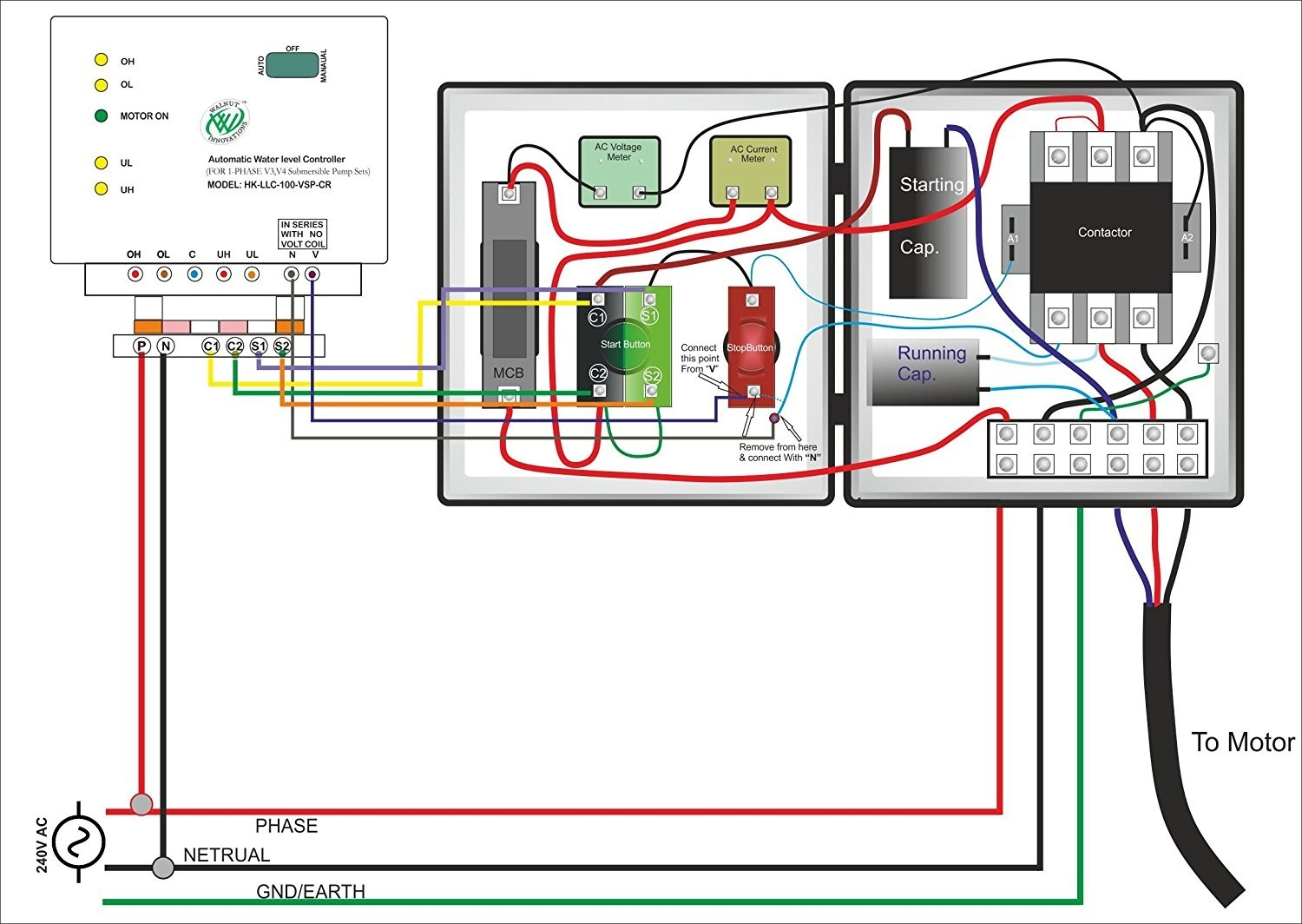 hight resolution of single phase submersible pump starter wiring diagram wiring diagram well pump free wiring diagram xwiaw
