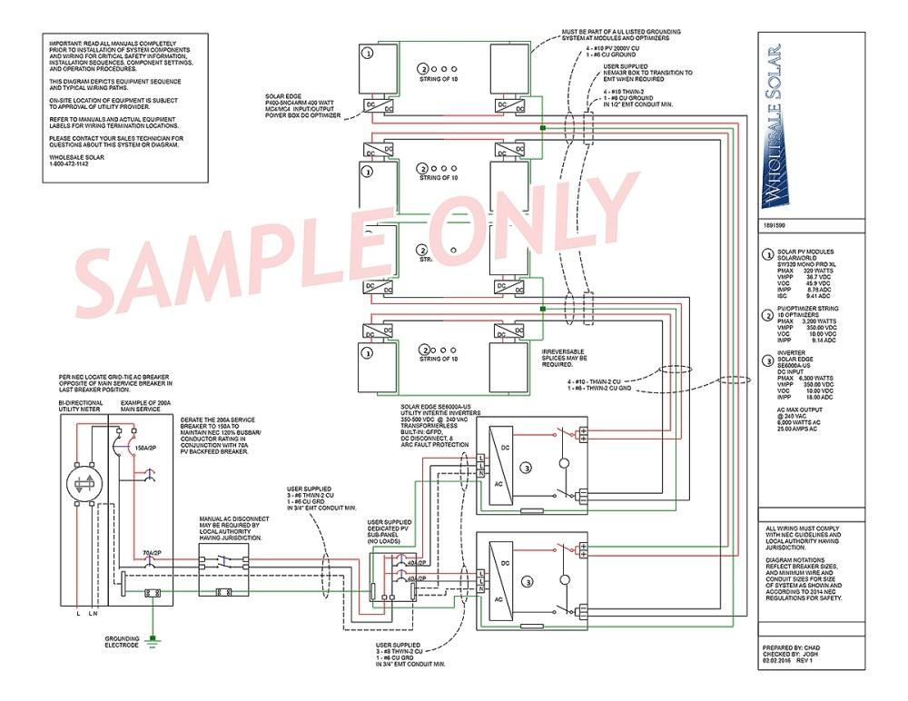 medium resolution of solar panel grid tie wiring diagram