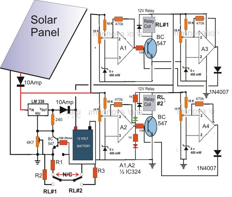 medium resolution of solar panel wiring diagram schematic
