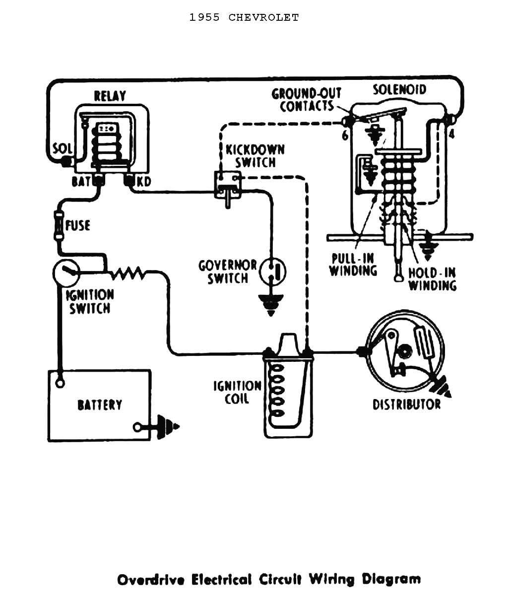 1955 chevy heater wiring diagram