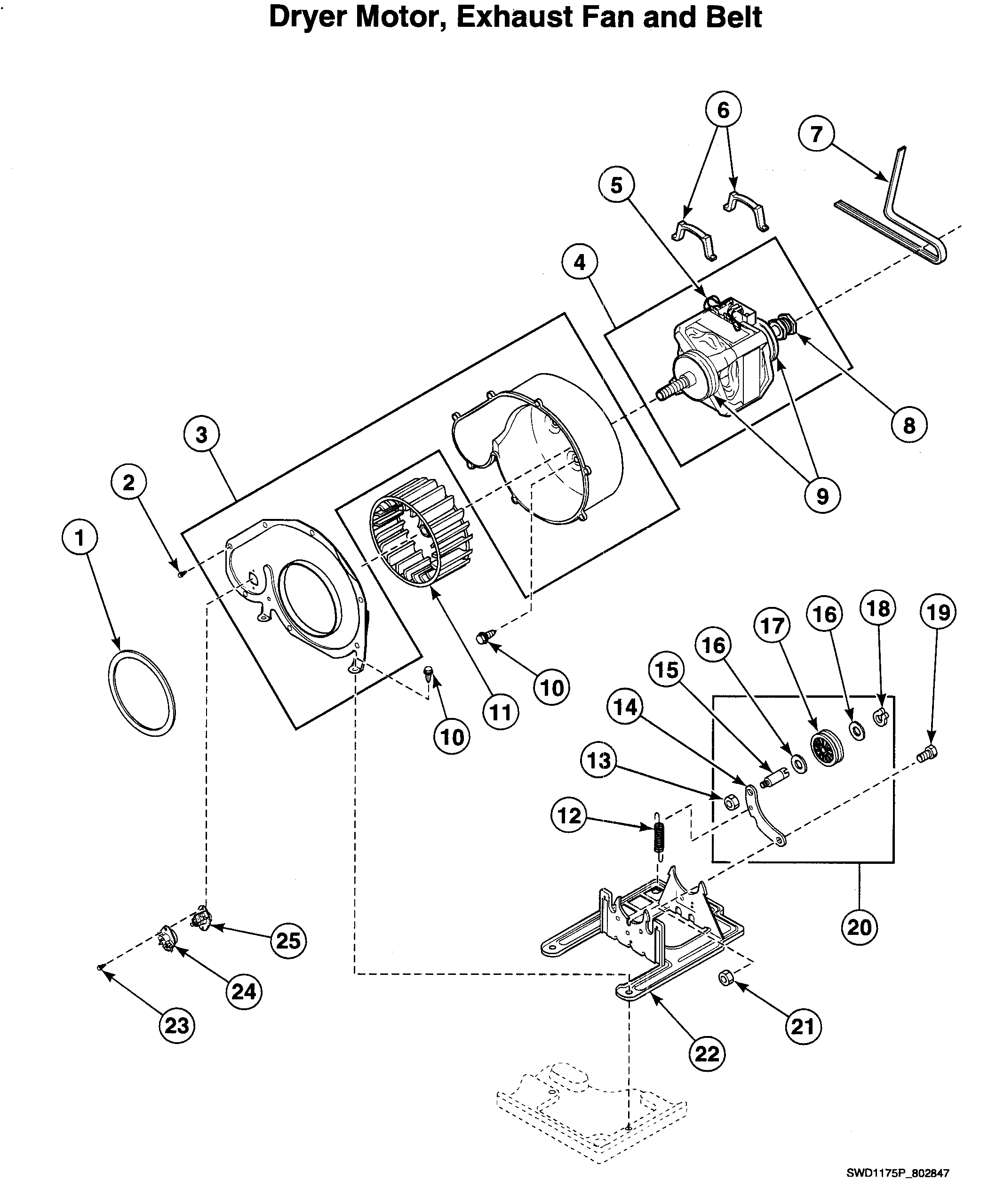 Speed Queen Dryer Wiring Diagram
