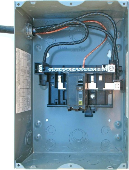 small resolution of square d 100 amp panel wiring diagram