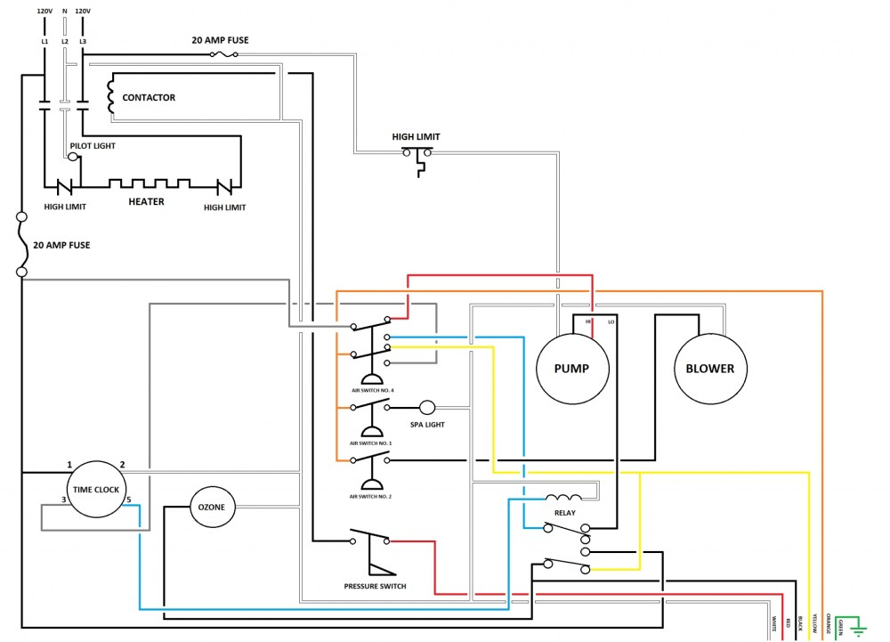 medium resolution of square d hot tub gfci breaker wiring diagram