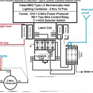 Square D Lighting Contactor Class 8903 Wiring Diagram
