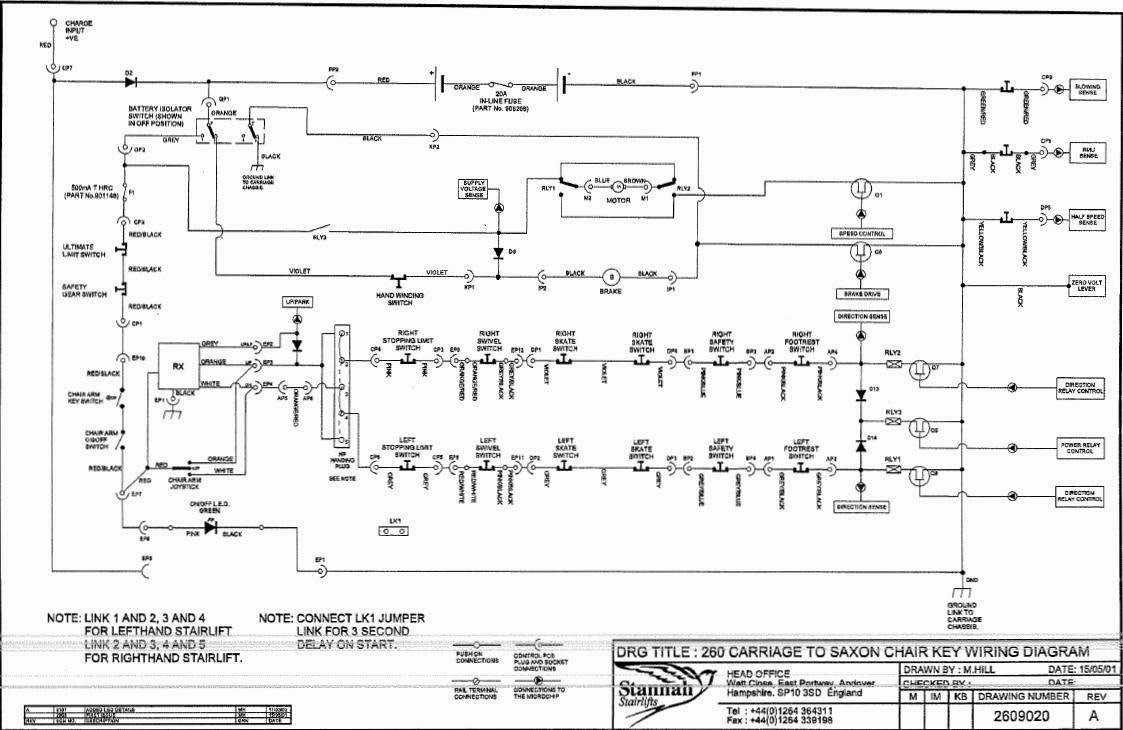 hight resolution of stannah 420 wiring diagram