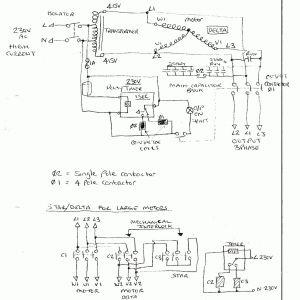 Static Phase Converter Wiring Diagram | Free Wiring Diagram