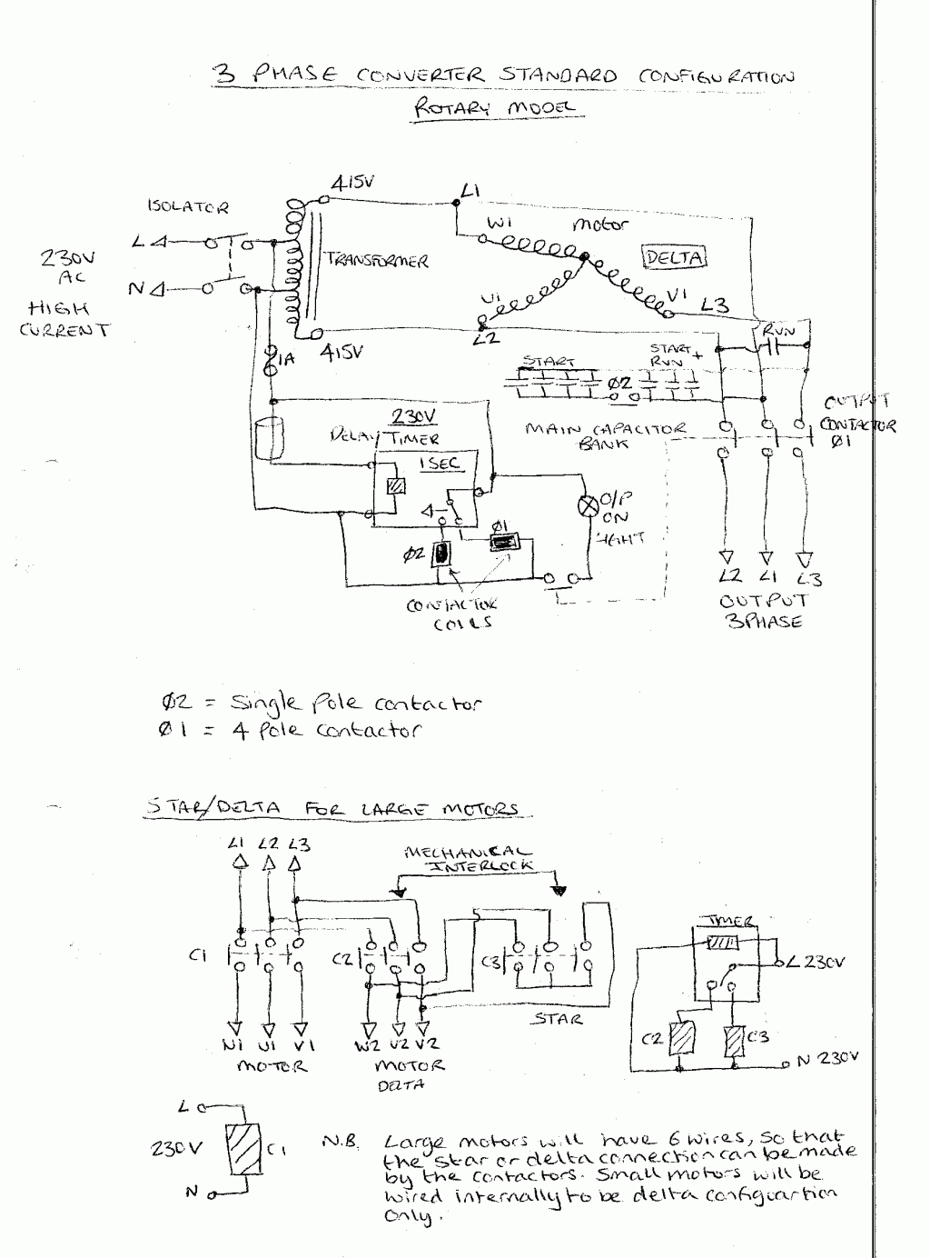 wiring diagram reversing circuit dfd 0 level example starter wire database 3 pole contactor diagrams schematic