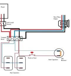 static phase converter wiring diagram free wiring diagram wiring diagram  for 3 phase rotary converter static