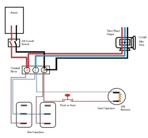 Static Phase Converter Wiring Diagram | Free Wiring Diagram