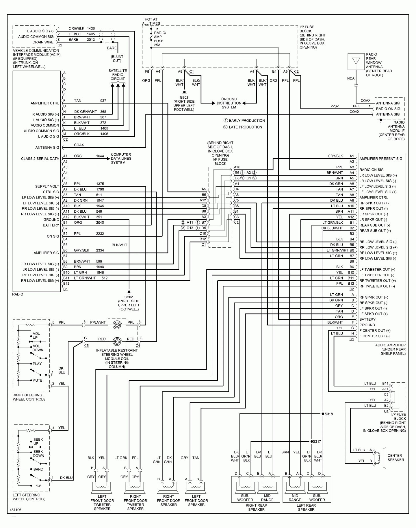 steering wheel radio controls wiring diagram