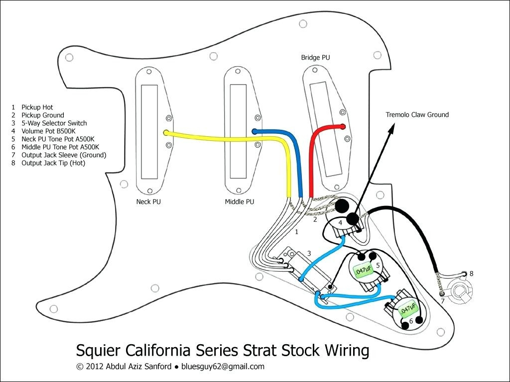 hight resolution of strat wiring diagram 5 way switch squire by fender strat schematics wire center u2022 rh