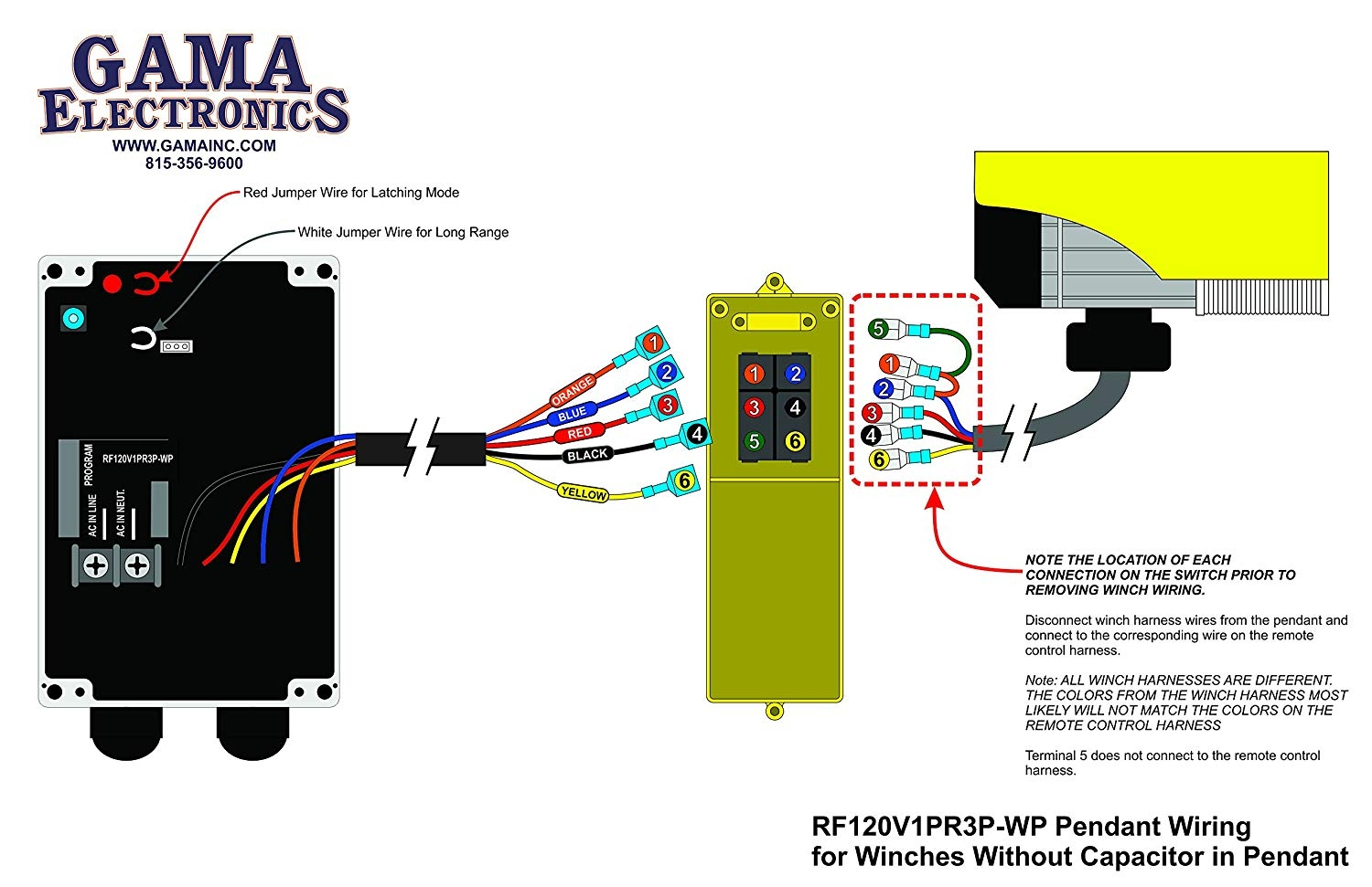 Wiring Diagram Electric Hoist