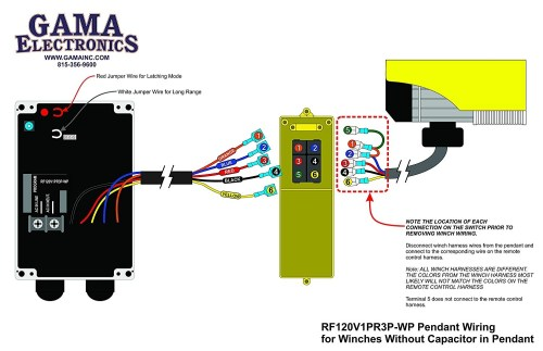 small resolution of strongway electric cable hoist wiring diagram rf remote control for 120vac pendant controlled hoists and