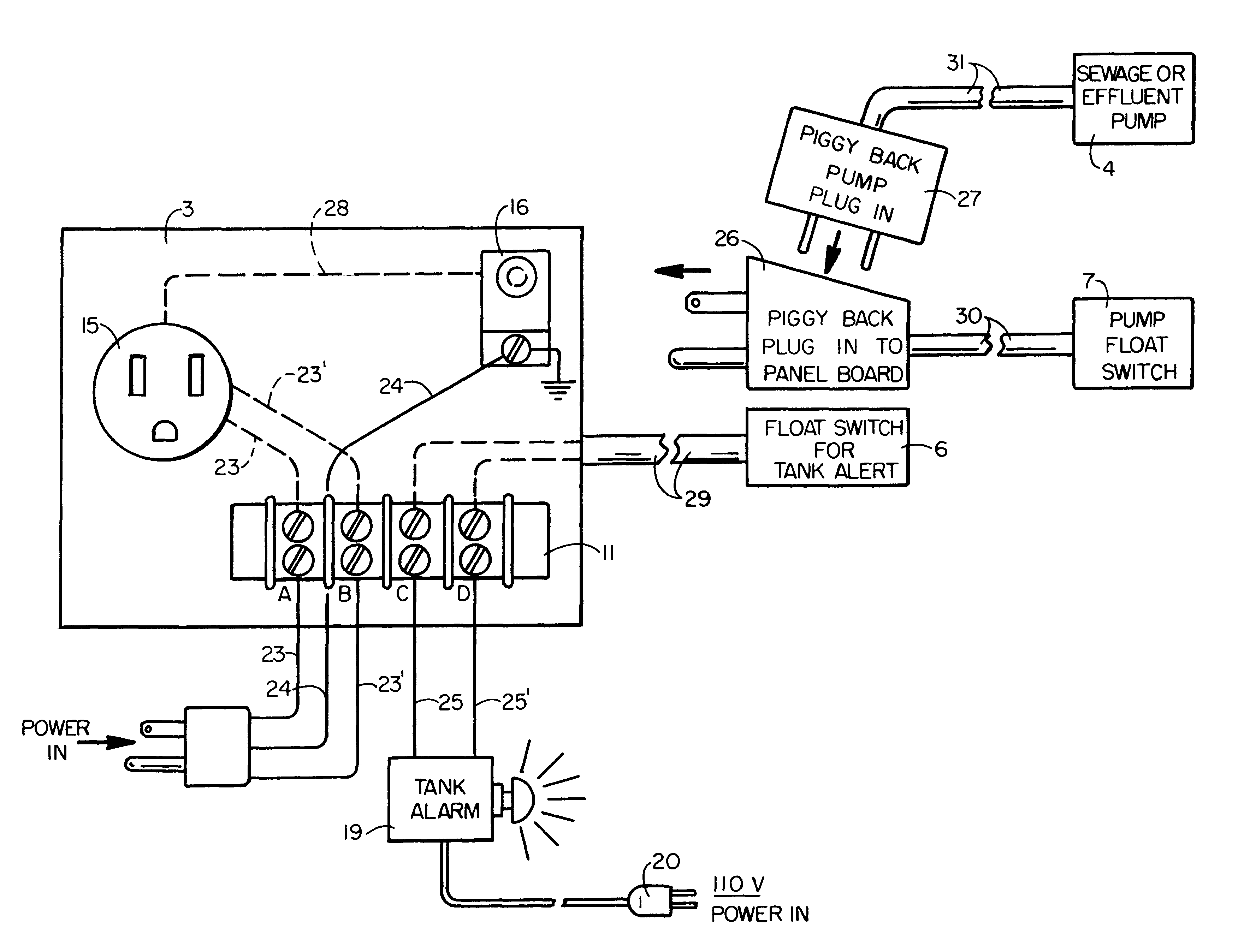 Sump Pump Wiring Diagram