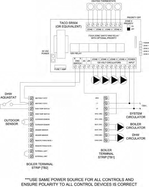 small resolution of taco 007 f5 wiring diagram