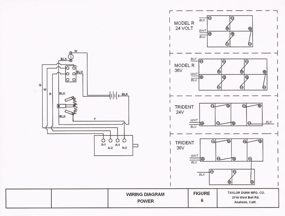 medium resolution of taylor dunn 36 volt wiring diagram taylor dunn 36 volt wiring diagram attractive 36v battery