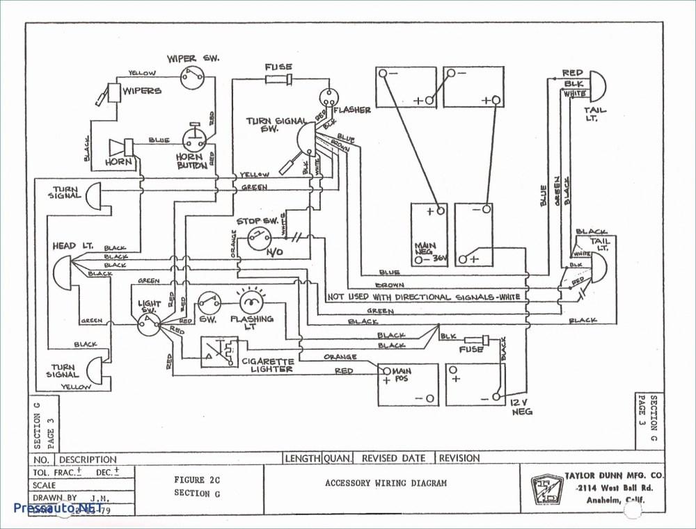medium resolution of taylor dunn 36 volt wiring diagram wiring diagram ez go electric golf cart new ezgo
