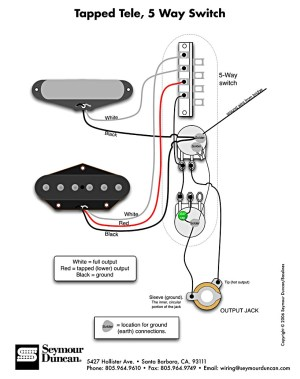 Telecaster 3 Pickup Wiring Diagram | Free Wiring Diagram