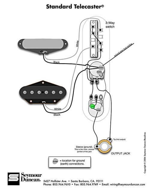 small resolution of telecaster 3 pickup wiring diagram standard tele wiring diagram 1d