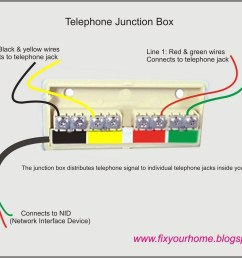 telephone network interface wiring diagram [ 1600 x 1232 Pixel ]