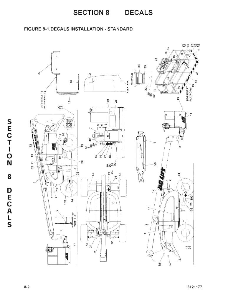 Skyjack Lift Wiring Diagram
