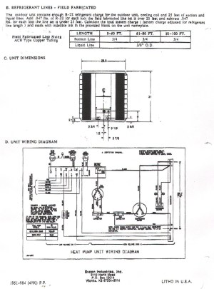 Tempstar Heat Pump Wiring Diagram | Free Wiring Diagram