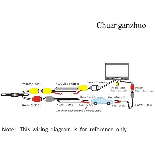 small resolution of tft lcd monitor reversing camera wiring diagram free wiring diagramtft lcd monitor reversing camera wiring diagram