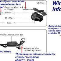 Tft Lcd Monitor Reversing Camera Wiring Diagram | Free ...