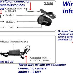 Tft Lcd Monitor Reversing Camera Wiring Diagram   Free Wiring Diagram