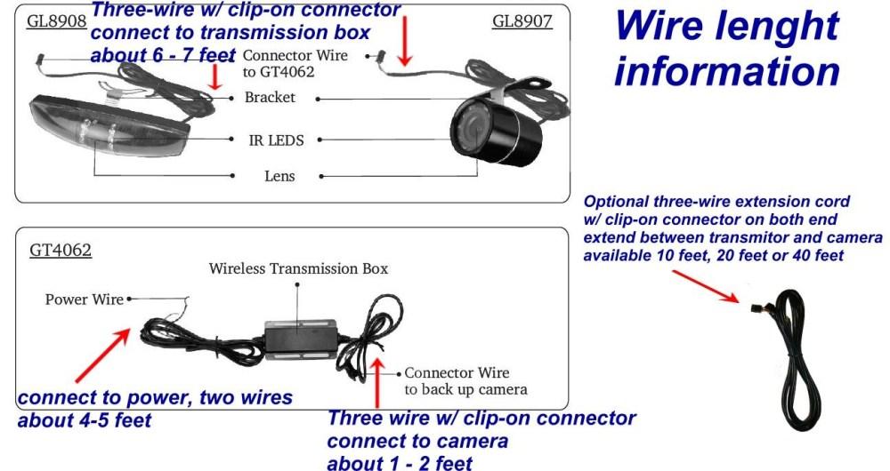 medium resolution of tft lcd monitor reversing camera wiring diagram