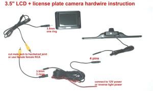 Tft Lcd Monitor Reversing Camera Wiring Diagram   Free