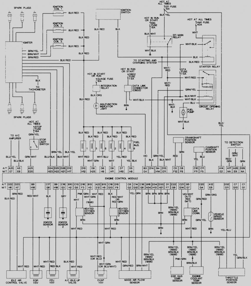 [DIAGRAM] 90 4runner Wiring Diagram FULL Version HD