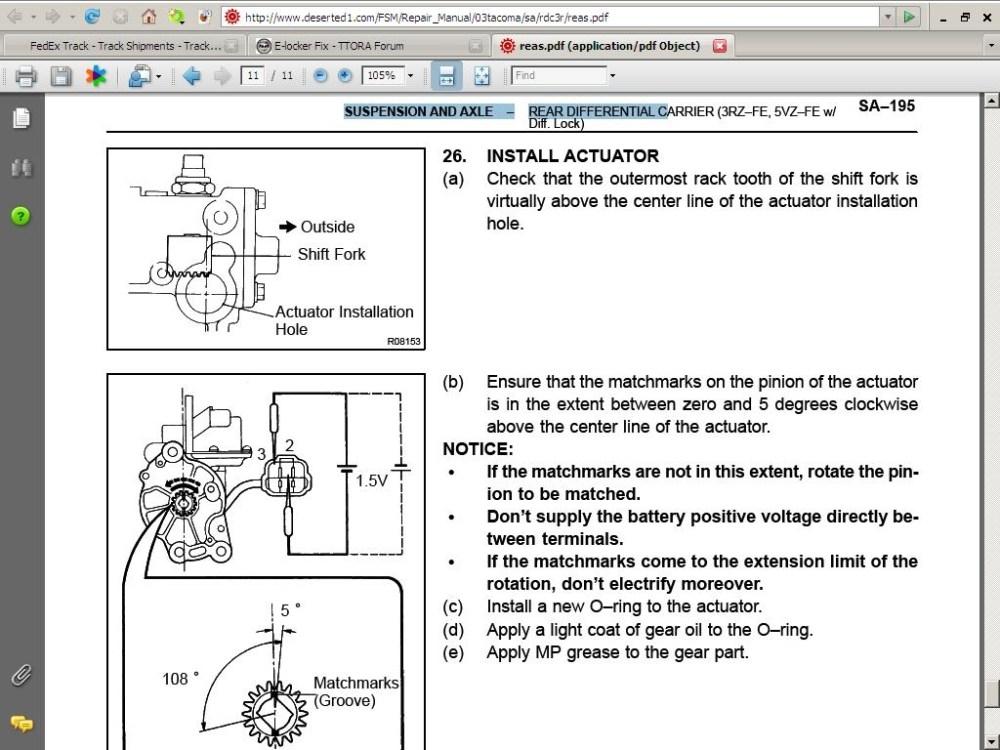 medium resolution of toyota e locker wiring diagram