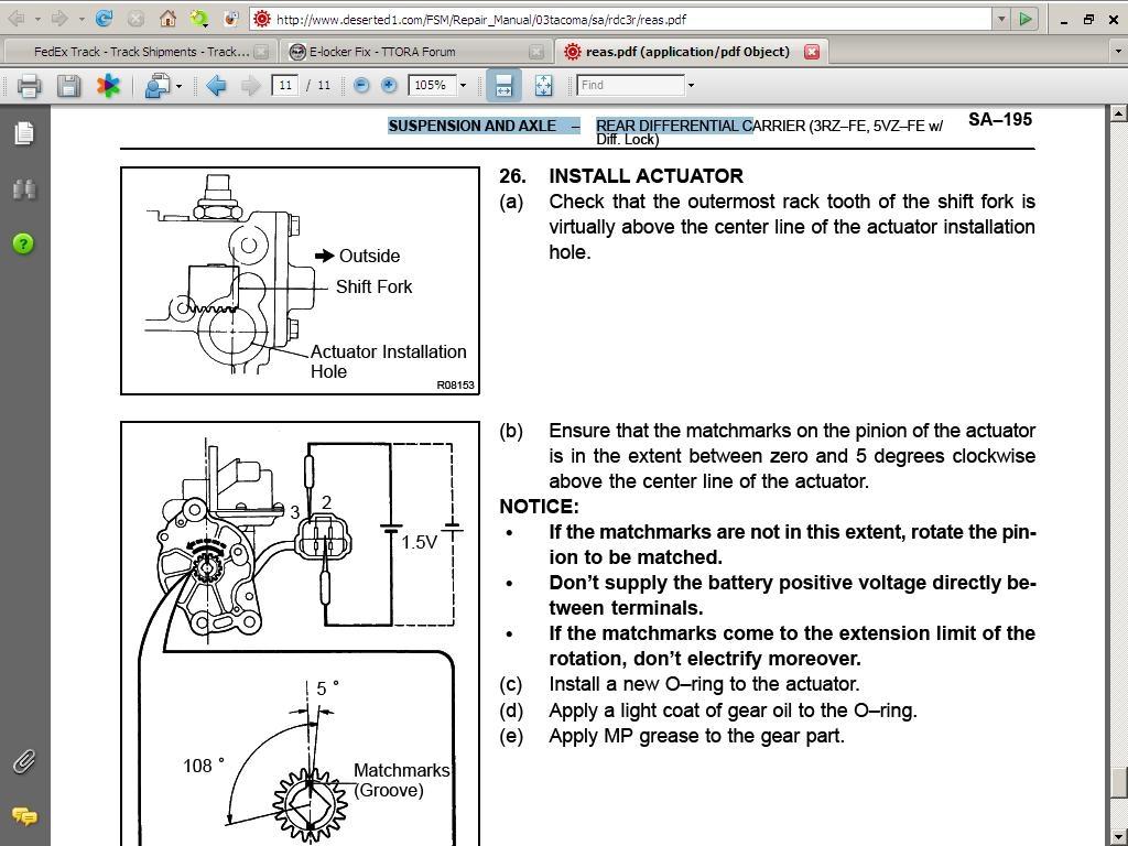 hight resolution of toyota e locker wiring diagram