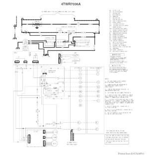 Trane Wiring Diagram Heat Pump | Free Wiring Diagram