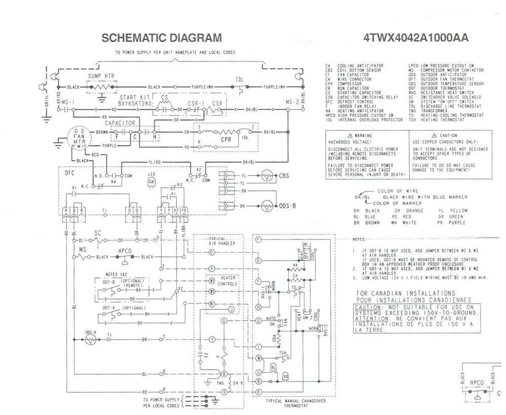medium resolution of trane wiring diagram heat pump wiring diagram for trane xr14 heat pump train pumps 17t
